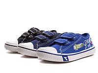Спортивная обувь.Кеды детские для мальчиков оптом от фирмы Super-Gear 5335B (30 пар, 24-29)