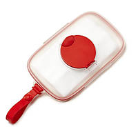 Skip hop - Силиконовый футляр для салфеток, красный