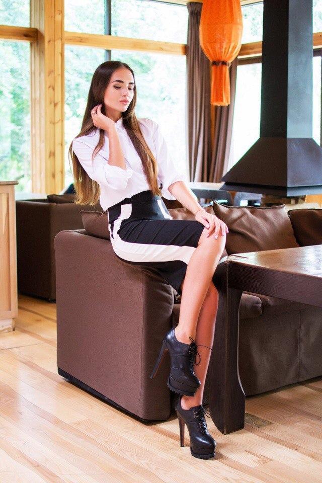 Комплект рубашка+юбка