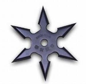 Сюрикен - метательная звездочка, из высококачественной прочной стали, диаметр 9,8 см - Интернет магазин «Наш базар» быстро, доступно и качественно в Киеве