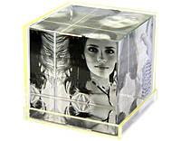 Фоторамка пластик кубик большой 7*7*7
