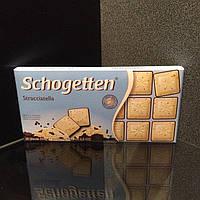 Сочетание молочного и белого шоколада со вкусом страчателлы Schogetten Stracciatella