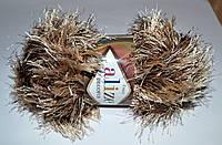Alize Decofur 1367 бежево-коричневый Фантазийная пряжа