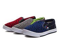 Спортивная обувь.Кеды детские для мальчиков оптом от фирмы Super-Gear B745 (18 пар, 25-30)