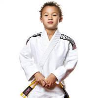Кимоно детское для Бразильского джиу-джитсу TATAMI Kids Nova 2015 Белое + Белый пояс в комплекте М00