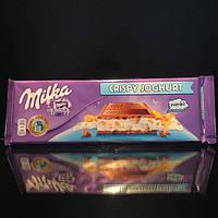 Шоколадка Milka Crispy Yoghurt 300г