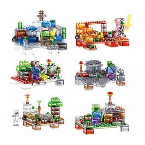 Конструктор Lele 33008 Майнкрафт 6 видов (аналог Lego Minecraft), фото 2