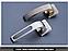 Дверная ручка Metal-bud Fortuna никель- сатин, фото 4