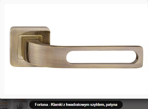 Дверная ручка Metal-bud Fortuna бронза