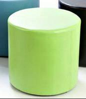 Пуф цилиндр темно-зеленый