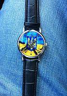 Часы с гербом Украины флаг Украины наручные с рисунком