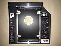 Aдаптер optibay caddy 12,7mm DVD to Sata переходник