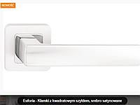 Дверная ручка  Metal-bud Ibiza серебро сатиновое