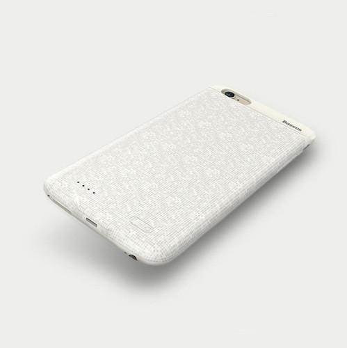 Чехол-аккумулятор для iPhone 7 8 Baseus Plaid Backpack 2500mAh