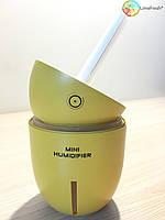 Ультразвуковой увлажнитель-диффузор воздуха мини лимон Mini Humidifier Limon