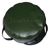 Складное Рыболовное Ведро LionFish.sub для Прикормки без крышки 8л., фото 4