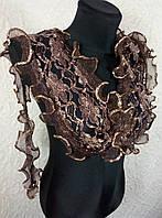 Узкий гипюровый шарфик (цв 05)