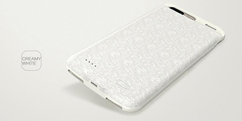 Чехол-аккумулятор для iPhone 7 Plus/8 Plus Baseus Plaid Backpack 3650mAh