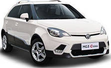 Фаркопы на MG 3-Cross (c 2011--)