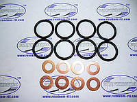 Набор колец уплотнения под форсунки (8 колец), ЯМЗ-238, МАЗ, К-700