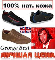 """Мужские кроссовки натуральная кожа """"George Best"""" Англия"""