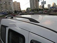 Рейлинги Renault Kangoo 2008-, Mercedes Citan 2013- длинная база, черные, чугунные ножки Can Koruma