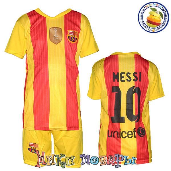 Футбольная форма для детей с номером Месси Размер  7- 8 лет - Покупай. 3c0e2552b07