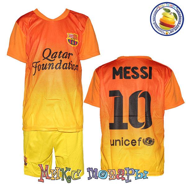 Детская футбольная форма клуб Барселона Размер: 8 лет - Покупай.org Розничный интернет магазин детской и подростковой одежды в Одессе