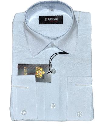Школьная рубашка с длинным рукавом на мальчика, р.29-36