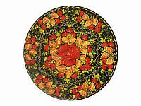 Блюдо круглое Цветочное дерево -1 (Петриковская роспись)