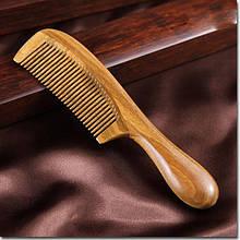 Классическая расческа из натурального дерева сандал для волос