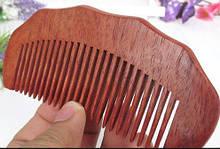 Натуральный гребень из палисандра для волос