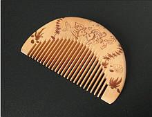 Расческа деревянная Рыбки детская для волос