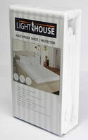 Наматрасник водонепроницаемый LightHouse махровая ткань TERRY 80х190