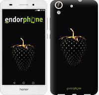 """Чехол на Huawei Honor 5A Черная клубника """"3585u-456-716"""""""