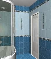 Golden Tile коллекция Александрия голубая