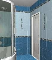 Golden Tile коллекция Александрия голубая , фото 2