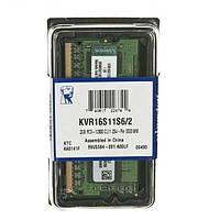 Память для ноутбука Kingston 2GB DDR3 1600 MHz (KVR16S11S6/2)