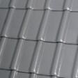 Керамическая черепица Робен Пьемонт титан (серый) глазурированный