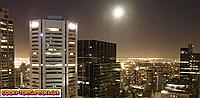 Панорамная картина Ночной город