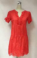 Платье - туника Phardi вышитая красная