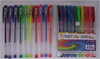 Ручка гель набор 10цветов L935060-10 неоновые уп12