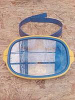 Маска для плавания. пластиковая оправа