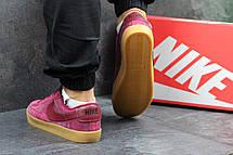 Кроссовки Nike SB замшевые,бордовые, фото 2