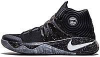 """Баскетбольные кроссовки Nike Kyrie 2 EYBL """"Black/Wolf Grey"""" (Найк) черные/серые"""