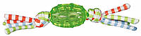 Мяч Trixie Rugby Ball with Tassels для собак резиновый, с веревочками, 8 см