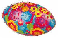 Мяч Trixie Rugby Ball для собак резиновый, с пищалкой, 15 см