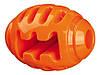 Мяч Trixie Soft & Strong Rugby Ball для собак резиновый, 10 см