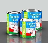 Грунтовка ГФ-021 ПРОФИТ «Lida» (Беларусь) От упаковки