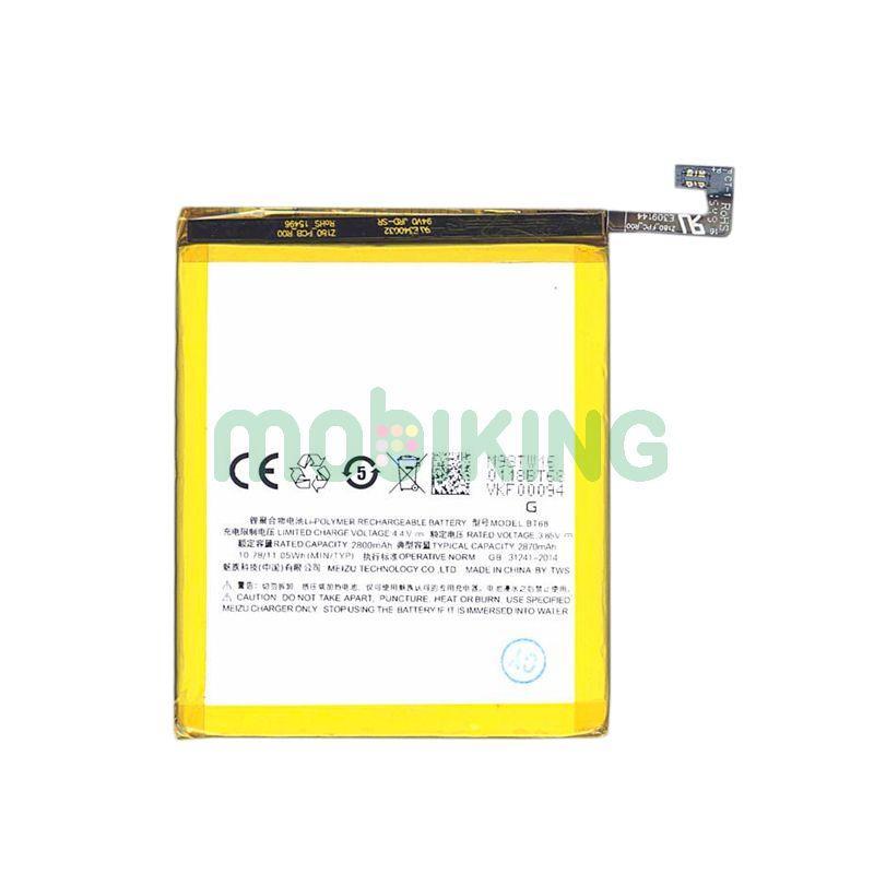Оригинальная батарея Meizu M3 (BT68) для мобильного телефона, аккумулятор для смартфона.